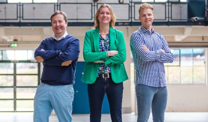 Pieter Huiskes,Jolanda Oude HendrikmanenJustin Ververvormen de directie vanOH Marketing & Strategie.