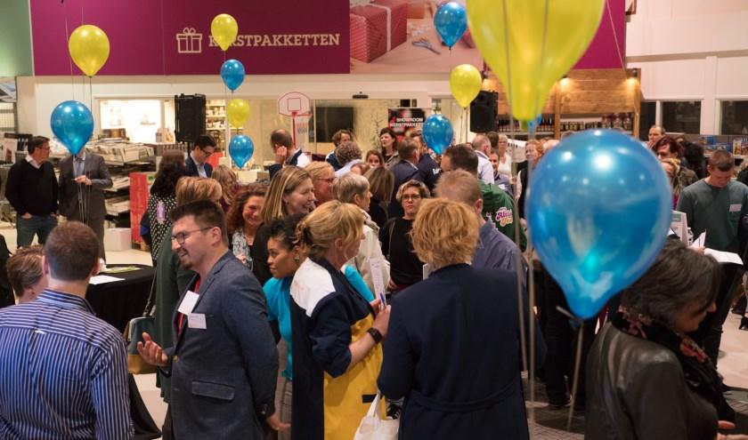 75 bedrijven en maatschappelijke organisaties gingen weer met elkaar in gesprek (Foto: Ingrid Koedood)