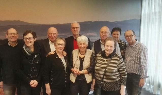 Het organisatieteam van de tien Groenhuysenbridgedrives