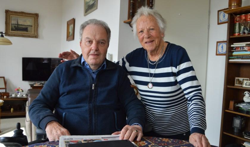 Het echtpaar Bik-Serne uit Kockengen is zestig jaar getrouwd. Foto: Alie Boele