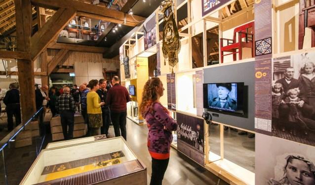 De expositie over de Hoeksche Waard is tot mei te zien (Foto: Arjon Groeneweg)