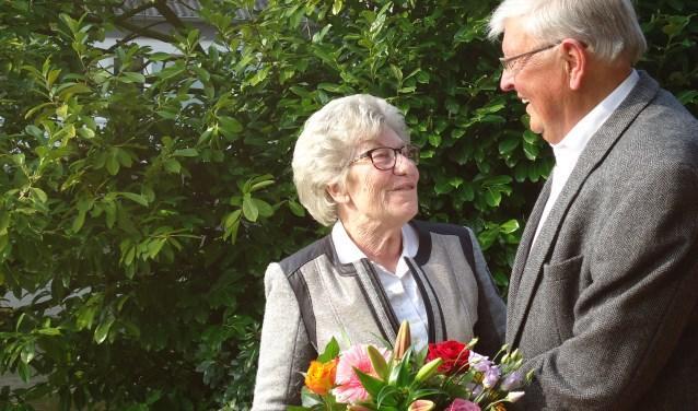 Het huwelijksfeest werd afgelopen zaterdag afgesloten met een familiediner in De Watergeus in Noorden.