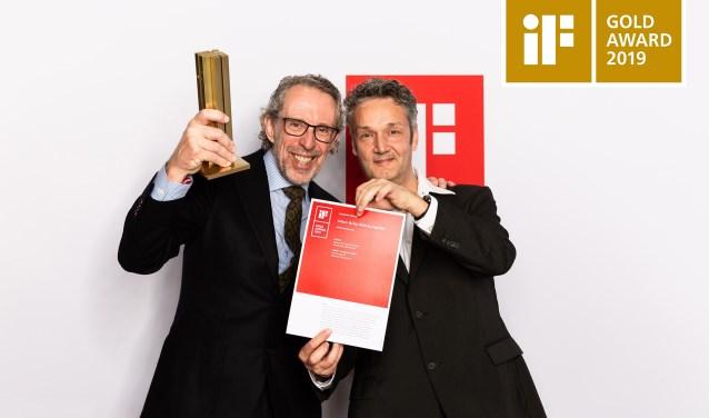 Ronald Scheppink (OGK Europe BV) en rechts Eric Kruisselbrink (Idenova BV)