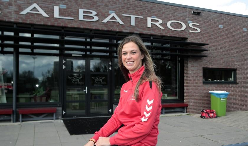 Kristie van der Linden is gek op Albatros.