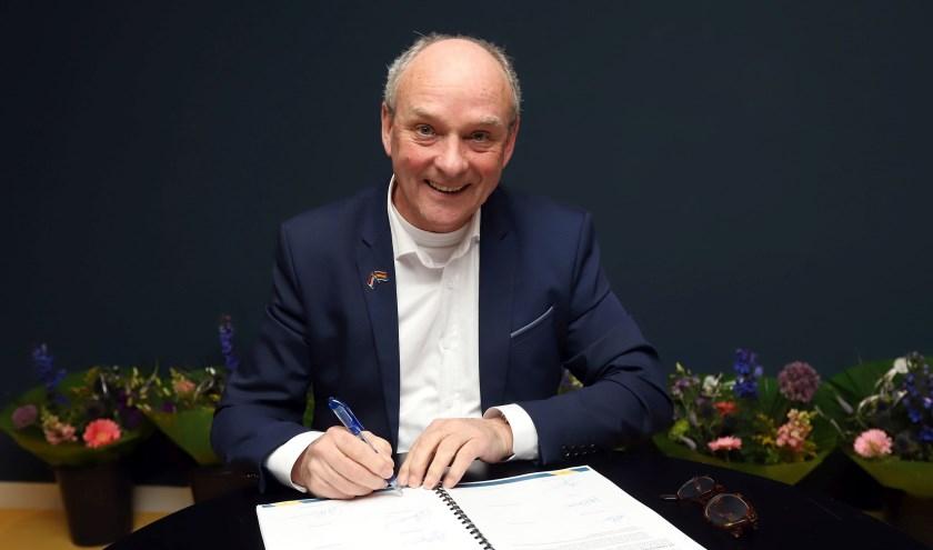 Frans Hoogendijk is het niet eens met zijn ontslag als wethouder (Foto: Gemeente Vlaardingen/Peter de Jong).