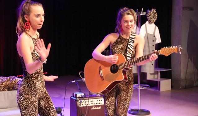 Lies en Saar gaven een geweldig optreden.