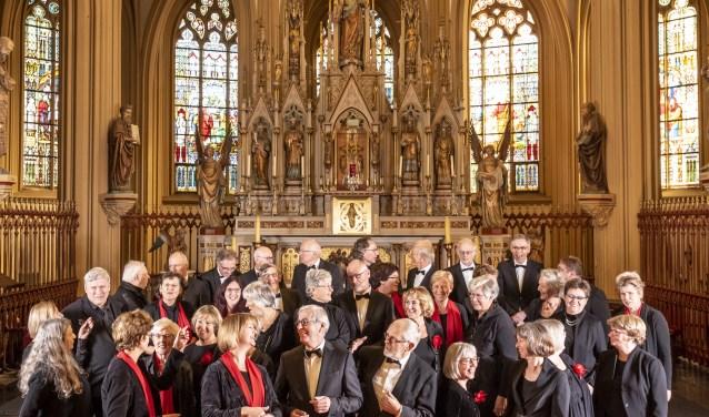 Vocaal Ensemble Oss zingt zondag 7 april de Matthäus Passion van Johann Sebastian Bach voor de zesde keer. Foto: Thomas Segers