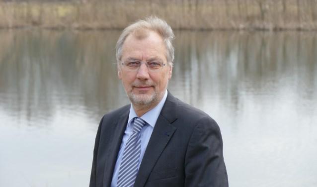 Lex Huijbers, waarnemend watergraaf van Waterschap De Dommel. Aan de waterschapsverkiezingen op 20 maart doen negen partijen mee.