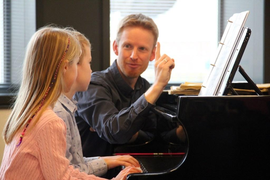 Isabel en Vasili  Foto: Muziekschool de Muzen © Persgroep