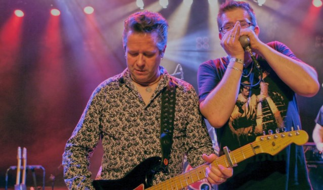 Gerrit (links) en Bennie Veldman zijn bekend in heel blues-minnend Nederland.