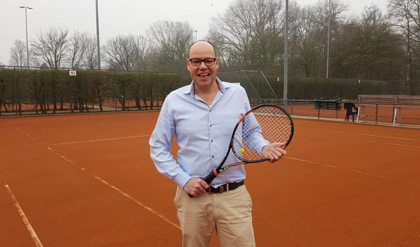 Onno Posthumus is de eerste fulltime parkmanager van de Delftse Hout (foto: Stan Wagtman)