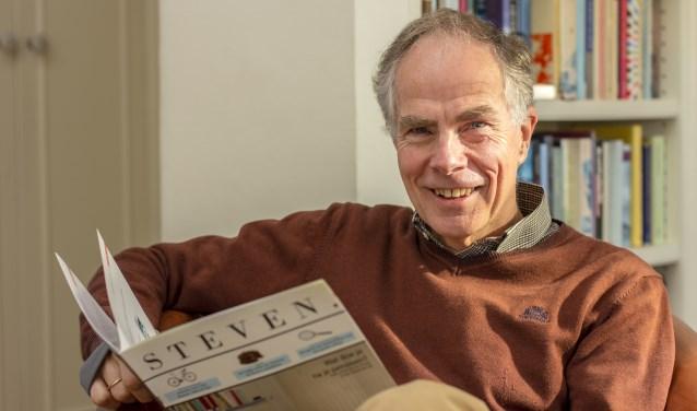 Steven Krol, huisarts in ruste, heeft veel voor zijn patiënten betekend. foto: Bas Bakema.