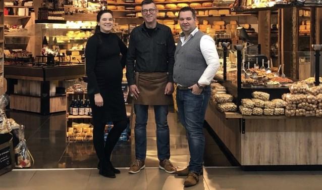 Florus Zwartbol, Ton Bakker en Jeanne Kalkman. (foto: pr)