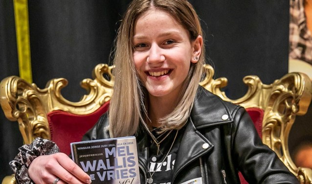 De voorleeskampioen die de kwartfinale van Read2Me! gewonnen heeft is dertienjarige Pleun Verhoeven van het Reeshof College (Tilburg) die voorlas uit het boek: 'Kil' van Mel Wallis de Vries.