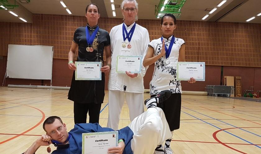 Het team van Douwe ter Horst in Aarschot