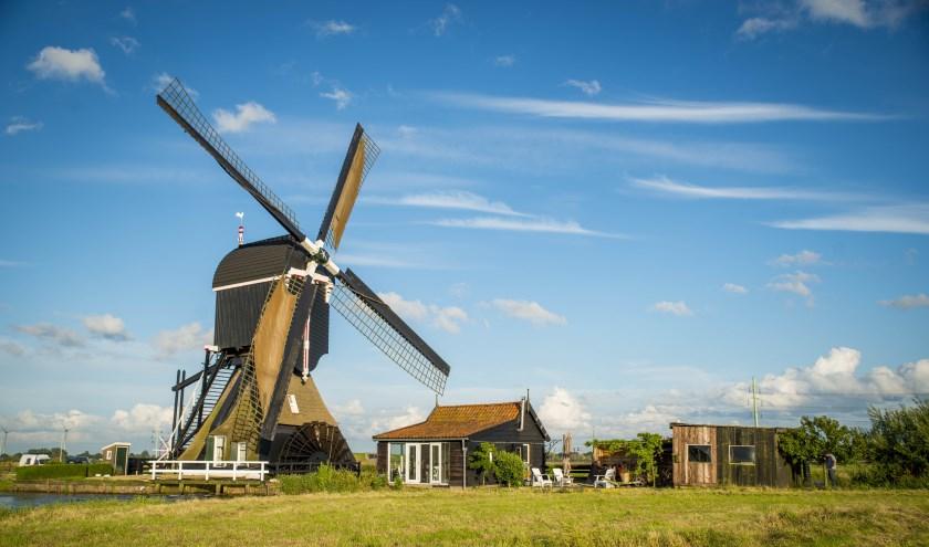 Tiendwegse Molen, Hardinxveld-Giessendam. (Foto:Cees van der Wal)