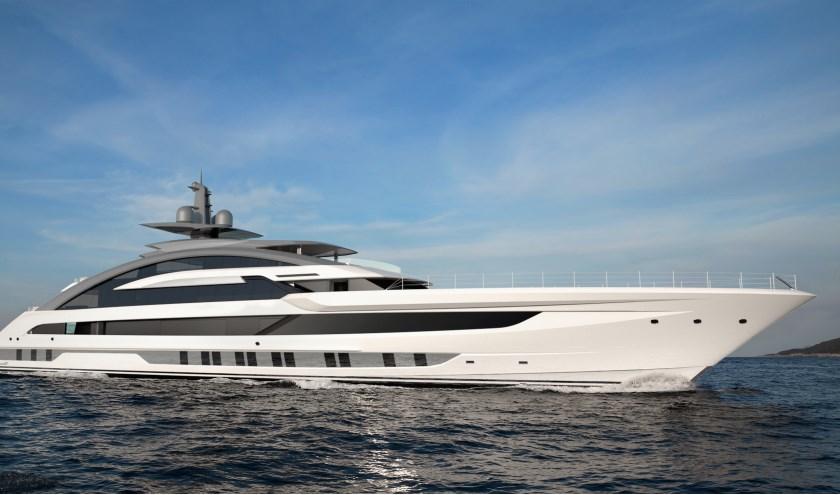 Dit 80 meter lange schip is het nieuwste project van Heesen Yachts. Het moet het snelste door conventionele kracht voortgestuwde aluminium motorjacht worden. Met de order is het alle hens aan dek voor de werf.