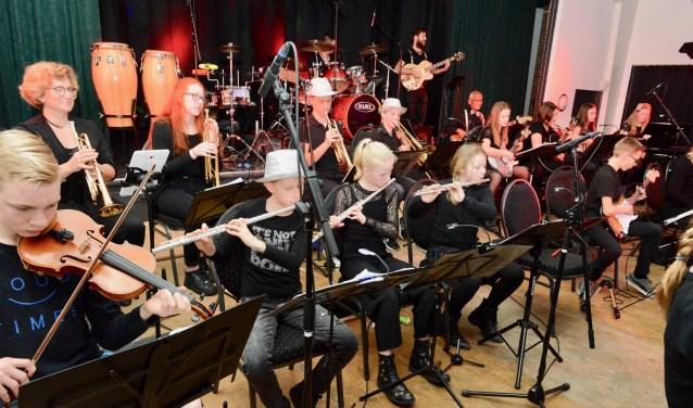 jeugdorkest Music@Materen-class