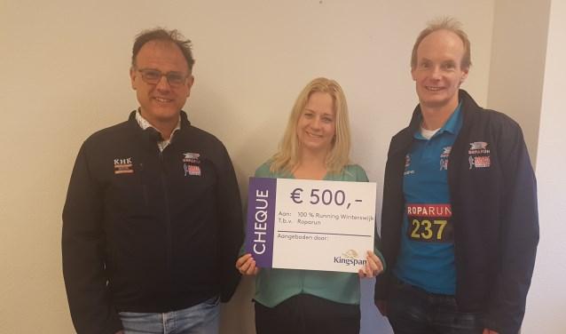 V.l.n.r. Ruud Storck, Chantal Heuvelman en Theo Schreurs.