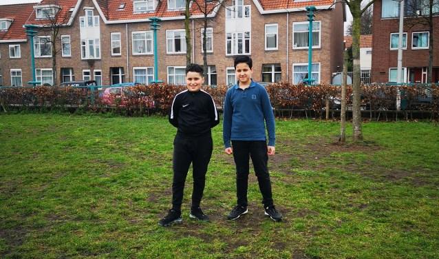 Ouail en Mohamed hebben een bijdrage aan de wetenschap geleverd. Foto: PR