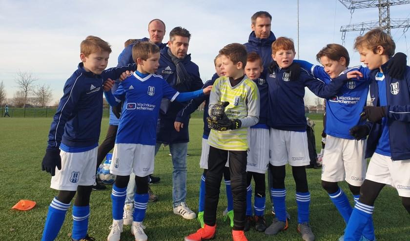 Voetballende OSC-jeugd op het jaarlijkse Clash of Clubs toernooi met grote nationale tegenstanders.