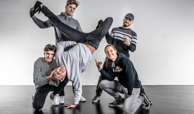 BreakSquad is zaterdag te zien in de finale van Holland's got talent. (Foto: pr)