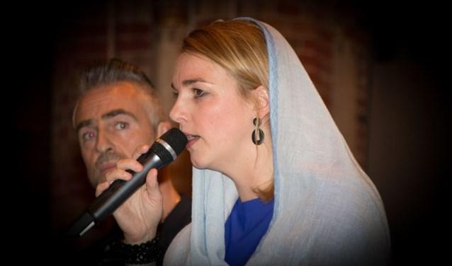 Genieten van de Maria Passie in Basiliek Boxmeer. (foto stichting Aquero)