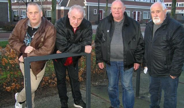 Jan Dijk, Carel Roelvink, Willem Kers en Tonnie Lunenburg komen op voor hun rechten en die van anderen.