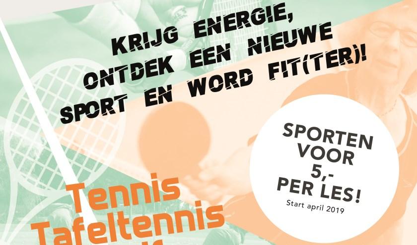 Het project wordt begeleid en ondersteund door Fysiotherapie van den Berg en Intersport.