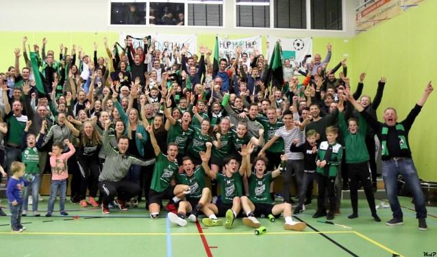 Vriendenschaar is kampioen. (Foto: Wim v.d. Pijl)