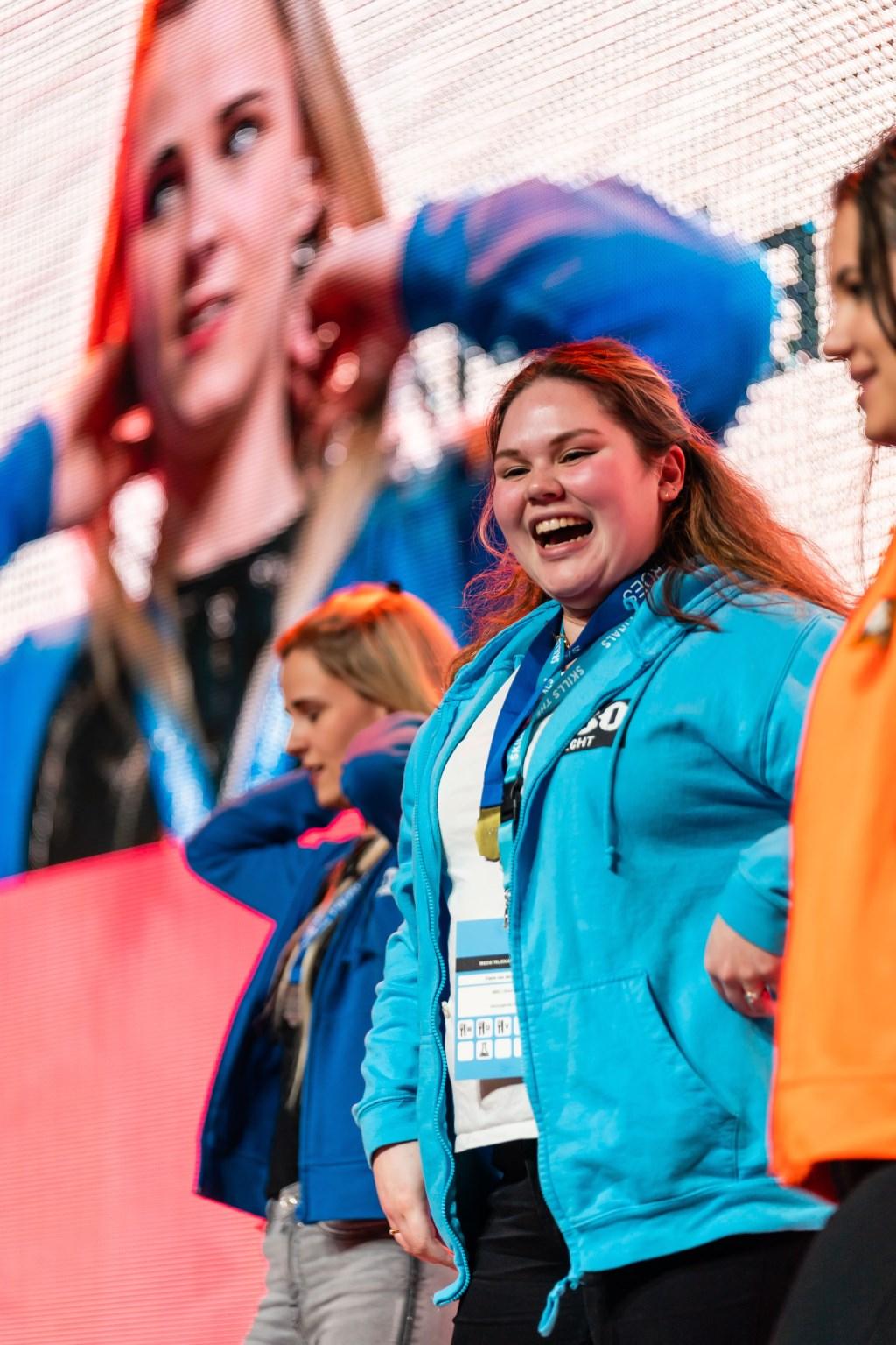 Claire MBO Utrecht wint goud op NK Skills  © Persgroep