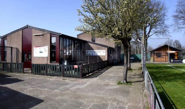 Het complex van SV Gouda in het Groenhovenpark. Foto: Marianka Peters