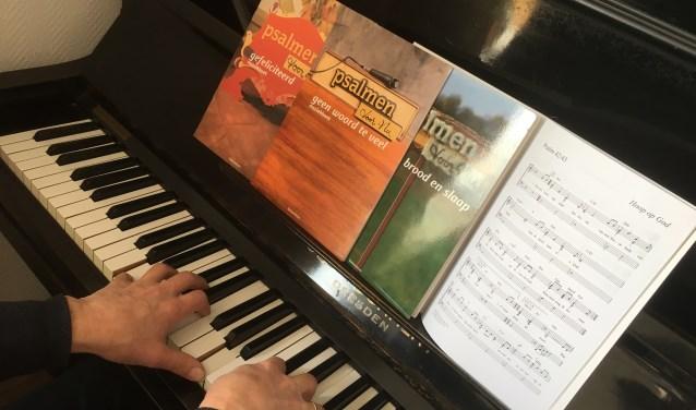 Piano en muziekboeken Psalmen voor Nu