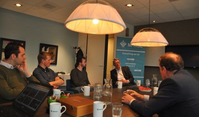 Op bezoek bij Mprise in Veenendaal
