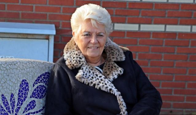 Rita anno 2019. Bijna 75 jaar, maar nog steeds heel ondernemend. (Foto: Jan de Jong)