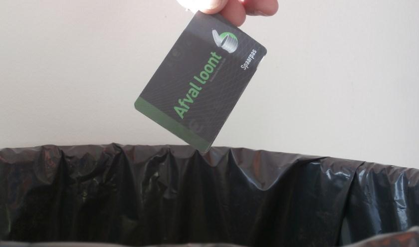 Afval loont, maar niet lang meer waarschijnlijk (Foto JvdS)