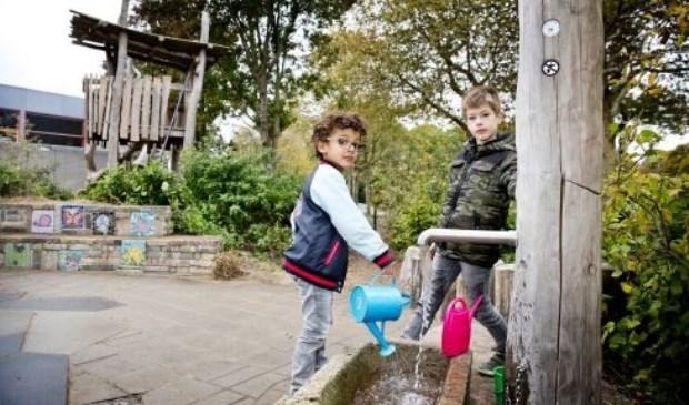Provincie stelt geld beschikbaar voor groene schoolpleinen. Foto: Hoogheemraadschap van Delfland
