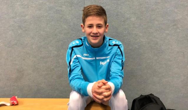 Sem Aalderink presteerde goed en is door naar de kwartfinale van het NK.