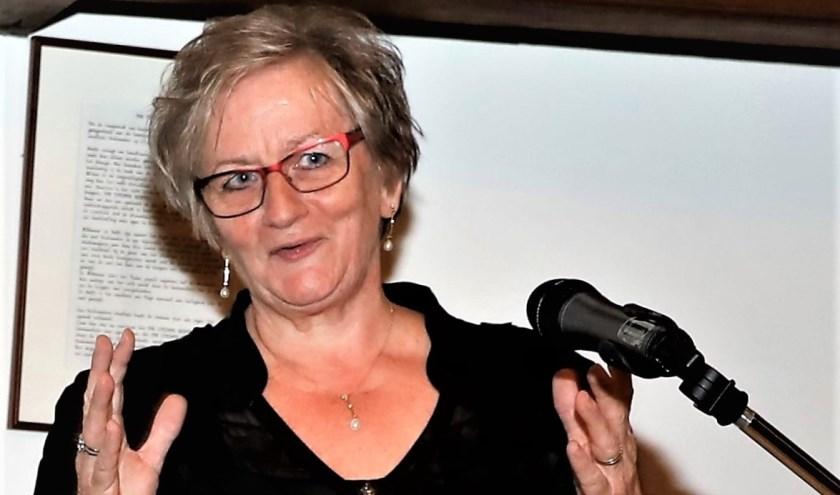 Gerdine van de Ven is een ondernemer met hart en ziel. Ondanks haar pensioen is ze nog steeds druk, omdat ze het zo leuk vindt. (Foto Bert van der Horst)