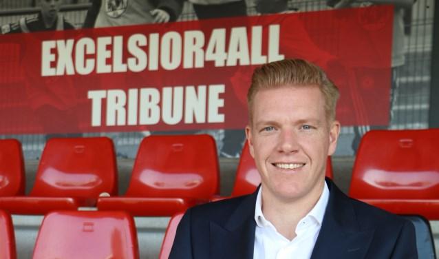 Directeur Niels Redert van stichting Excelsior4All.