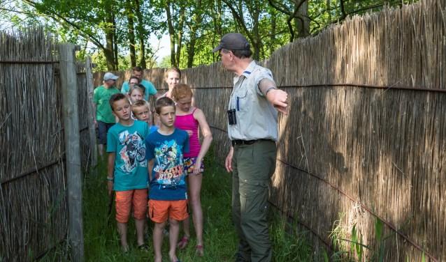 Tocht voor kinderen door eendenkooi Het Aalkeetbuiten