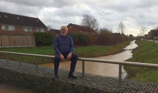 """Wim Stegeman:"""" Een grondwaterstand waarmee landbouw en natuur uit de voeten kunnen is belangrijk."""" Eigen foto."""