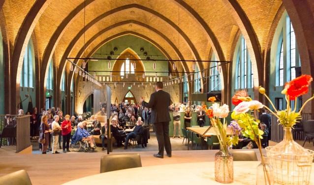 De kapel op Park Vossenberk in Kaatsheuvel is een sfeervolle ontmoetingsplek voor iedereen. De kapel is alle dagen van de week geopend.