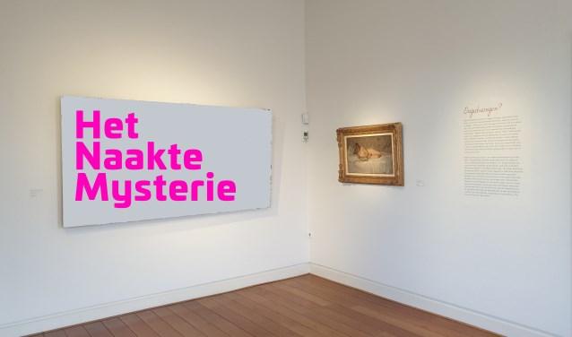 Zo trof de beveiliging het museum aan: lege plekken en een koffer met cryptische omschrijvingen van de verblijfplaats van de kunstwerken.
