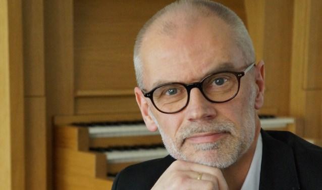Organist Arjan Breukhoven.