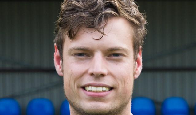 Jos Hutten scoorde voor de Boys. Foto: Erwin Heuver