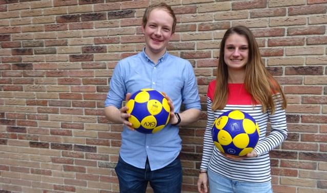 Ruben Blokland en Kim van den Broek. (Foto: Privé)