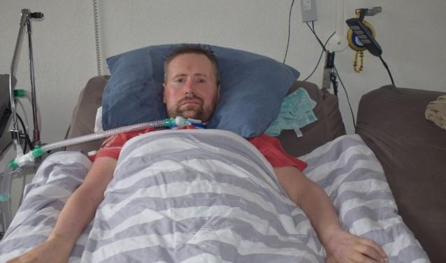 ALS-patiënt Ronnie Möller geeft nooit op.