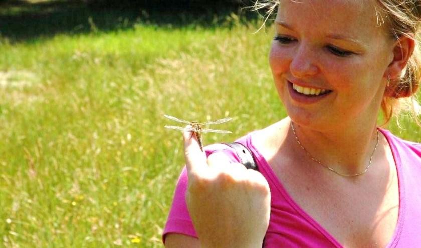 Libellen zijn prachtige dieren die een schone leefomgeving waarderen. (foto: PR)