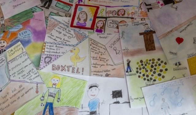 Kinderen van Boxtelse basisscholen tekenden hun ideale burgemeester.